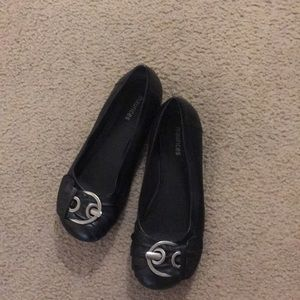 Maurices Black Flats